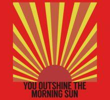 "Dear Theodosia ""You outshine the morning sun"" Kids Tee"