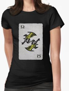 God of War - Ace of Blades Womens Fitted T-Shirt