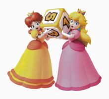 Princess Peach and Daisy Kids Tee