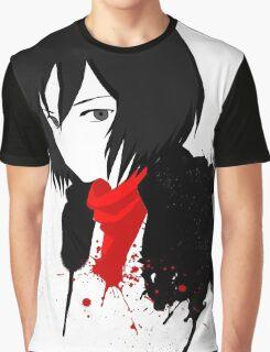 "Mikasa ""Attack on titan"" Graphic T-Shirt"