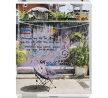 Street Art in Thailand iPad Case/Skin