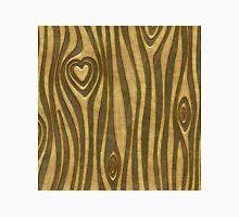 Golden Wood Grain Heart Classic T-Shirt