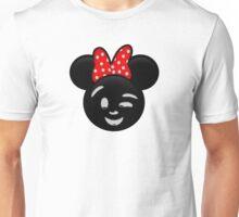 Minnie Emoji - Wink Unisex T-Shirt
