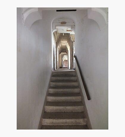 Upstairs, Downstairs Photographic Print
