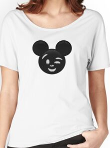 Micky Emoji - Wink Women's Relaxed Fit T-Shirt