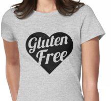 Gluten Free Heart Womens Fitted T-Shirt