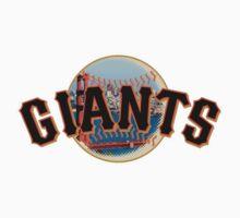San Francisco Giants Skyline Logo Kids Clothes