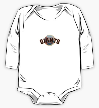 San Francisco Giants Skyline Logo One Piece - Long Sleeve