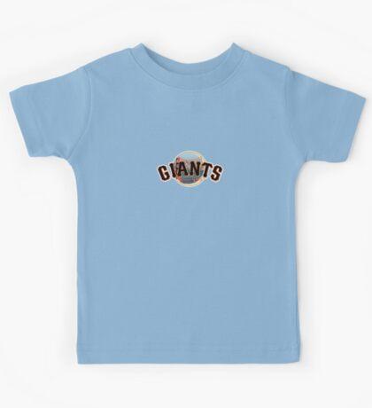 San Francisco Giants Skyline Logo Kids Tee