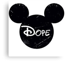 Dope Mickey Canvas Print