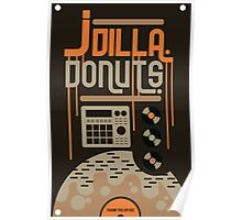 Dilla Donuts Poster