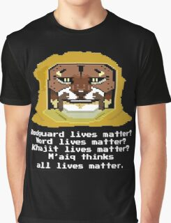 M'aiq on #BLM (TES Lore) Graphic T-Shirt