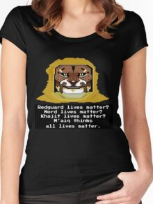 M'aiq on #BLM (TES Lore) Women's Fitted Scoop T-Shirt