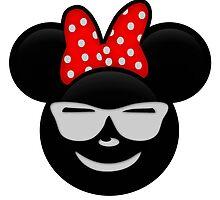 Minnie Emoji - Shades by LauryQuinn