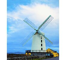 Blennerville Windmill, County Kerry, Ireland Photographic Print