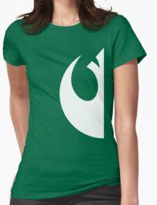 Rebels emblem Womens Fitted T-Shirt