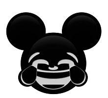 Micky Emoji - Laughter Photographic Print