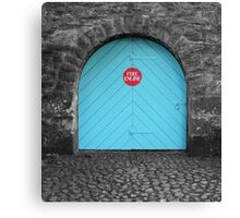 Fire Station Canvas Print