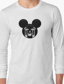 Micky Emoji - Bawling Long Sleeve T-Shirt