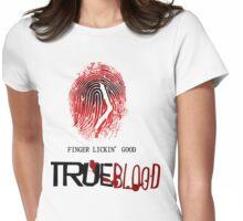 tRUE blood-fingerprint Womens Fitted T-Shirt