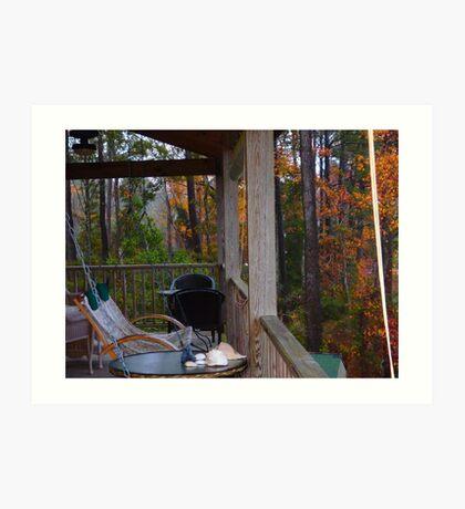 Outer Banks Still and Serene Upper Deck Art Print