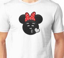 Minnie Emoji - Sweet Kiss Unisex T-Shirt