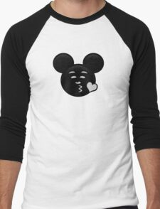 Micky Emoji - Sweet Kiss Men's Baseball ¾ T-Shirt
