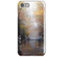 Rainy Park iPhone Case/Skin