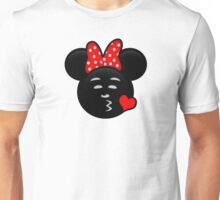 Minnie Emoji - Sweet Kiss Red Unisex T-Shirt