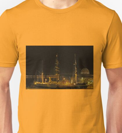 RRS Discovery at  night Unisex T-Shirt