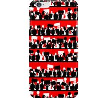 protest march iPhone Case/Skin