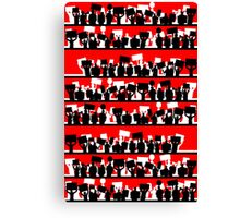 protest march Canvas Print