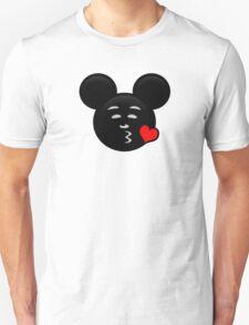 Micky Emoji - Sweet Kiss Red T-Shirt