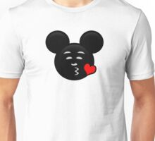 Micky Emoji - Sweet Kiss Red Unisex T-Shirt