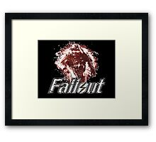 Fallout BoS Power Armour Soldier Vector Framed Print