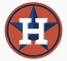 Houston Astros Color Swap Logo Baby Tee