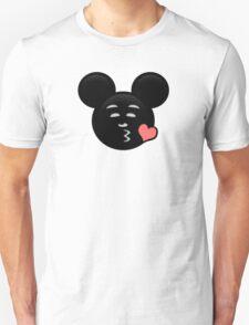 Micky Emoji - Sweet Kiss Pink T-Shirt