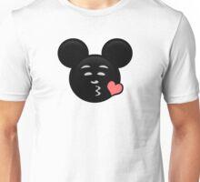 Micky Emoji - Sweet Kiss Pink Unisex T-Shirt