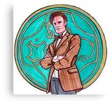 .11th Doctor. Canvas Print