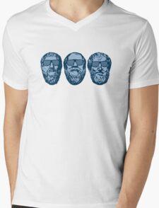 Clubbing in Plato's Cave Mens V-Neck T-Shirt