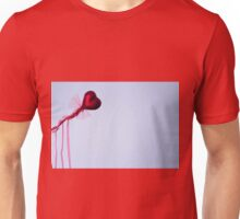 Red heart Unisex T-Shirt