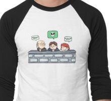 skeptical sigh Men's Baseball ¾ T-Shirt