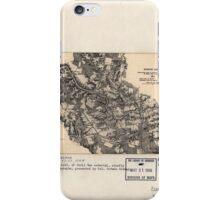 Civil War Maps 1199 North Anna May 22-27 1864 iPhone Case/Skin