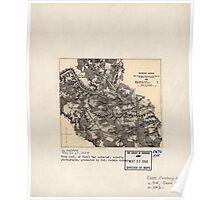 Civil War Maps 1199 North Anna May 22-27 1864 Poster