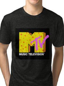 90's MTV Tri-blend T-Shirt