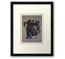 N64 Majora's Mask Mask Salesman Framed Print