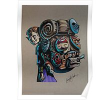 N64 Majora's Mask Mask Salesman Poster
