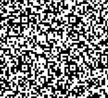 interjection QR code Sticker