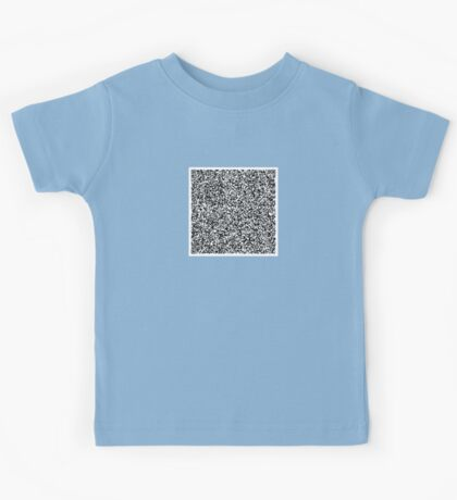 interjection QR code Kids Tee