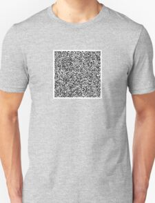 interjection QR code Unisex T-Shirt